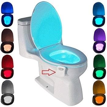 Lumière pour toilette