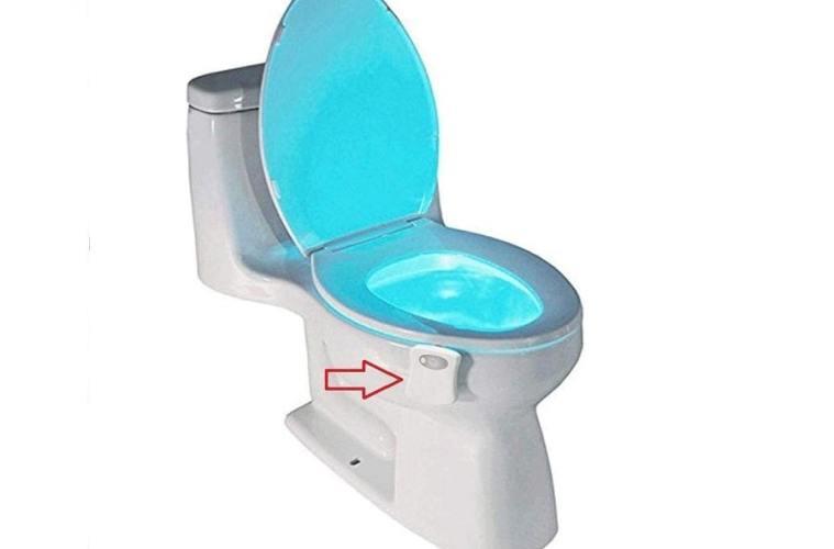 lumière toilette