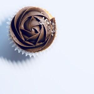 cup cake au chocolat