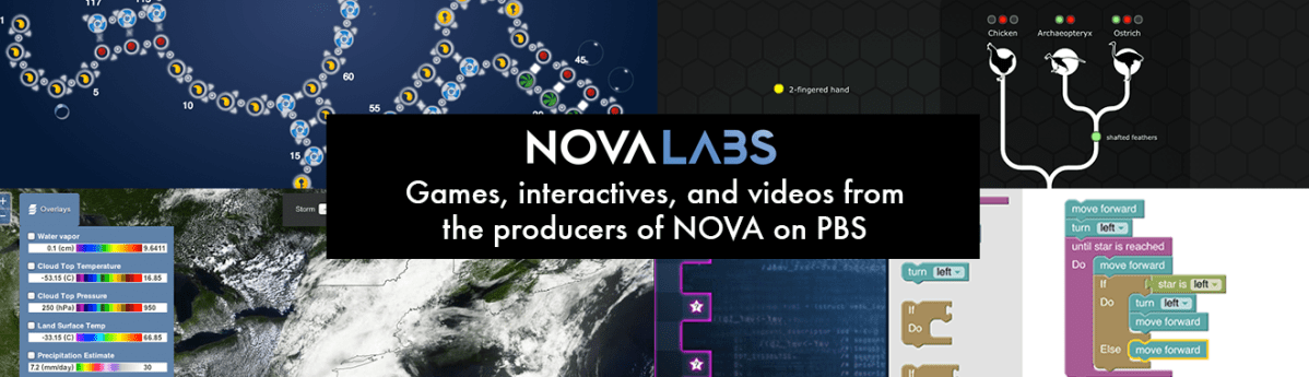 Science Games and Interactives from NOVA Labs