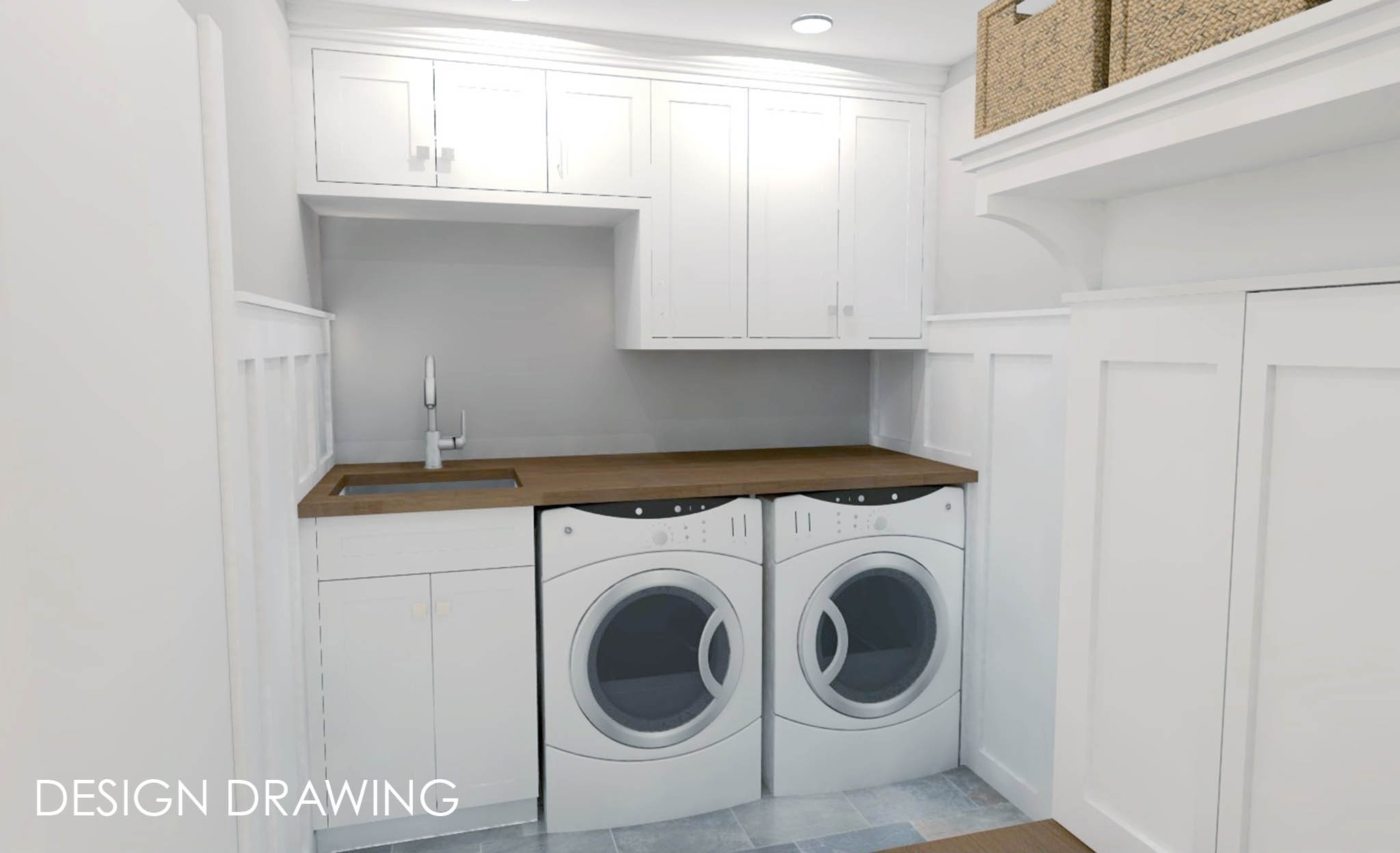 Laundry Room Amp Mudroom Renovation Novi Mi Labra Design Build