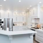 Dreamy White Custom Kitchen Labra Design Build