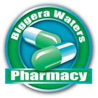 Biggera Waters Pharmacy Logo