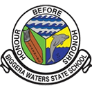 Biggera Waters State School Logo