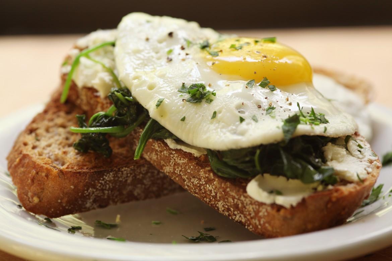 Open-Faced Sandwich Idea: Breakfast Recipe Ideas