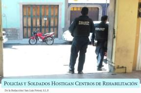 policias hostigan centros de rehabilitacion