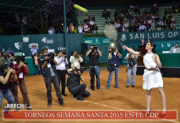 Inauguran Torneo Tenis CDP 2015