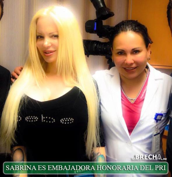Sabrina Sabrok-embajadora-honoraria-del-pri