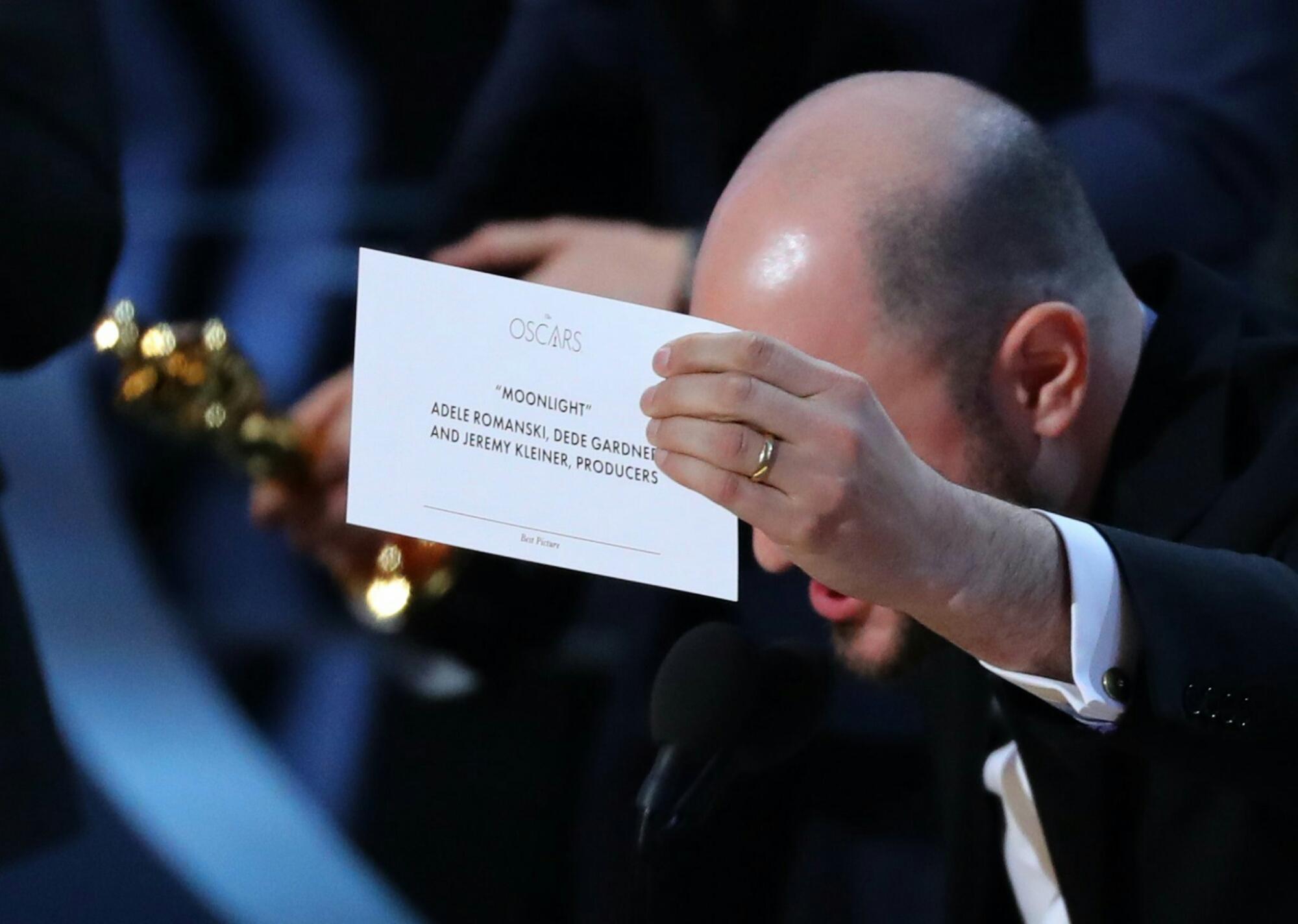 Premian Por Error En La 89 Edición De Los Oscar La Brecha