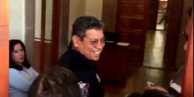 Arturo Gutierrez en Palacio