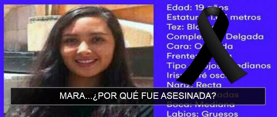 "Denise Dresser escribe: ""Mara""… Alejandro Hope: ¿Por qué fue asesinada Mara Castilla?"