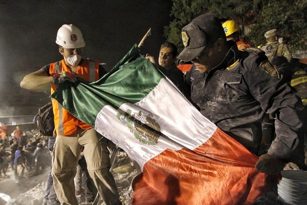 Sismo de 7.1 Sacude CDMX, Puebla, Morelos, Tlaxcala. Van 149 muertos