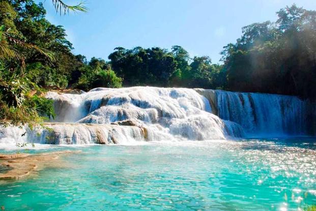 Cascadas de Agua Azul-2