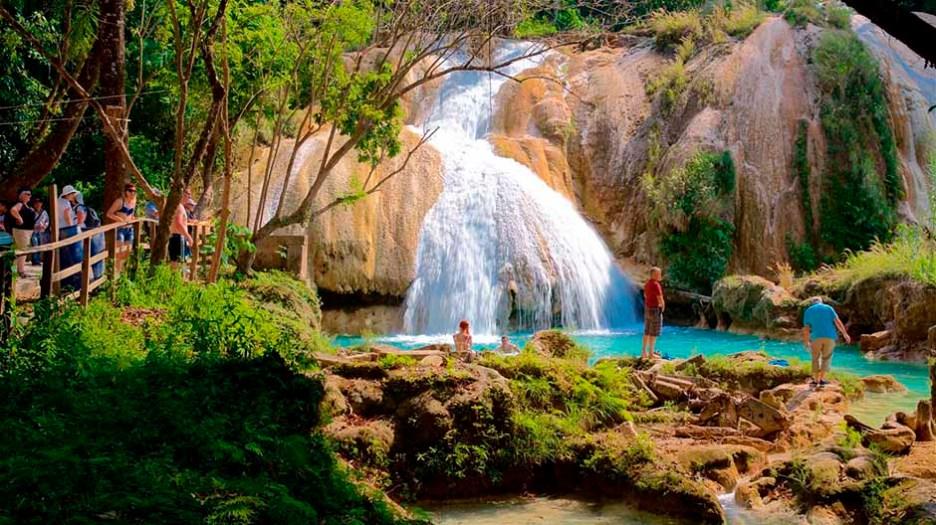 Cascadas de Agua Azul-3