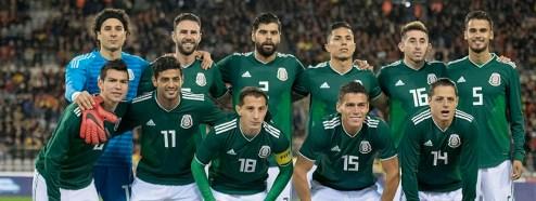 Mexico empata a 3 con Belgica-
