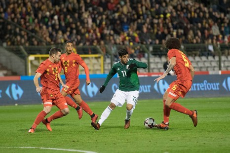 Mexico empata a 3 con Belgica-2
