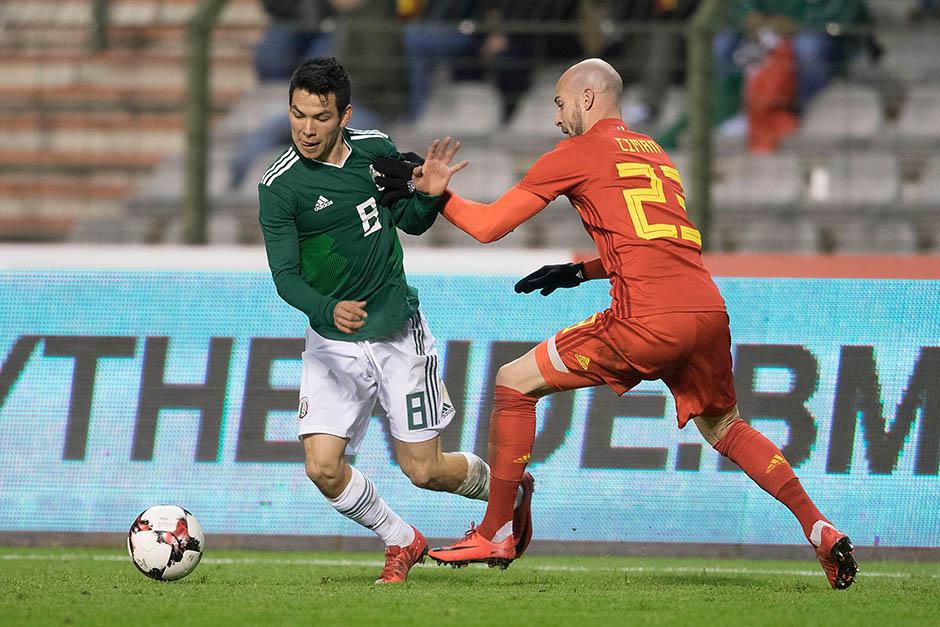 Mexico empata a 3 con Belgica-5