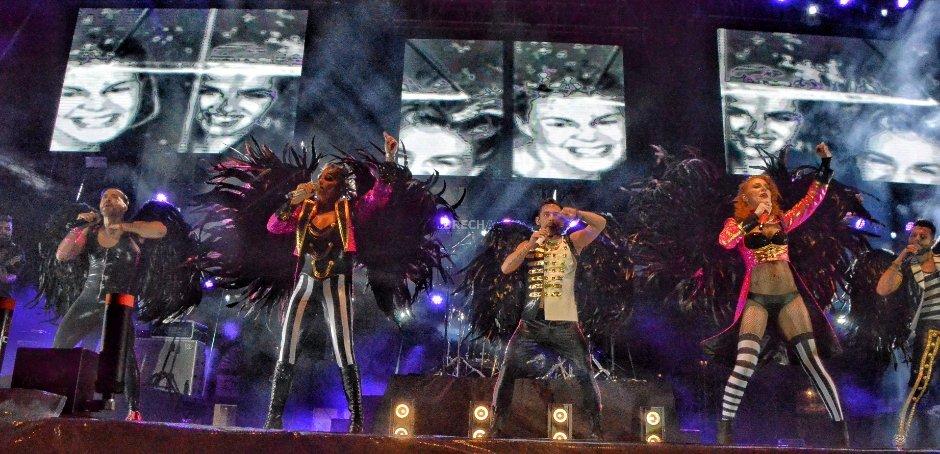 Noche Noventera con OV7 y Kabah en el Festival de la Cantera