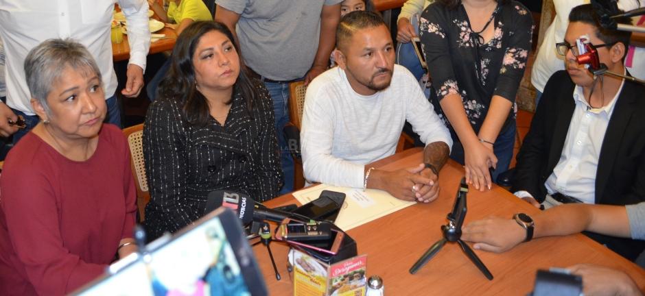 Fuera Gabino Morales del Congreso del Estado: Diputados de Morena