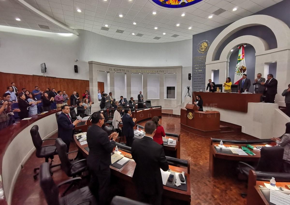 Aplazan Elección del Oficial Mayor del Congreso del Estado