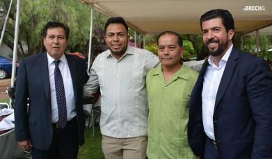 Gabino Morales Celebra 30-amigos-delgado sam-cue-arreola-