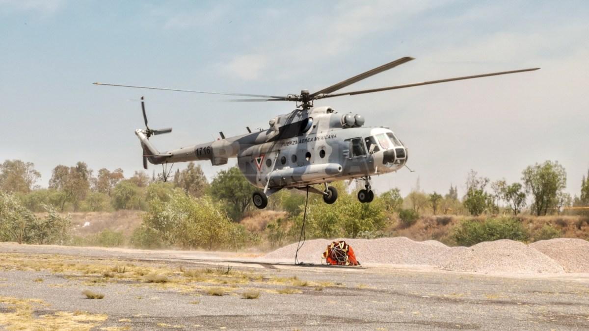Se Desploma MI-17 en la Sierra Gorda Queretana
