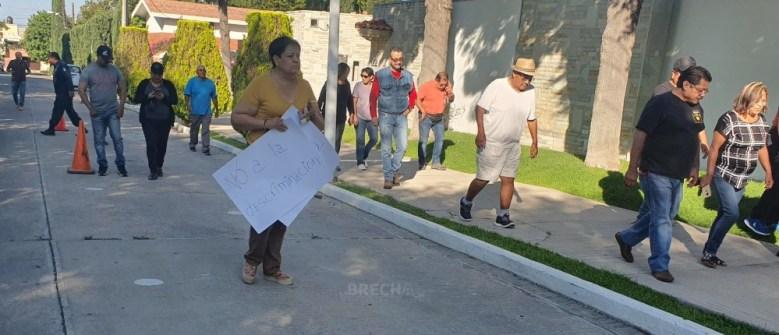 Protesta Ministerios Publicos SLP 2