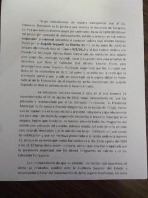 denuncia vs edmundo torrescano-
