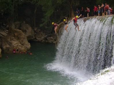 cascada de micos-