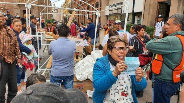 Manifestación Ambulantes Centro Histórico