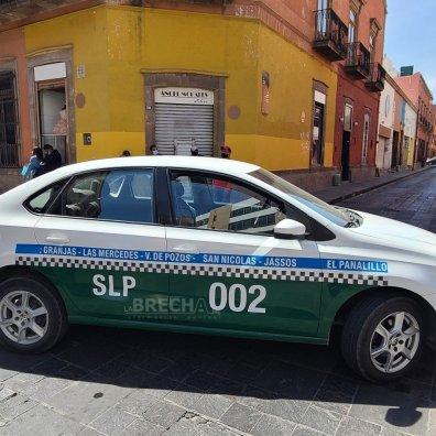 Taxistas en el Centro Histórico