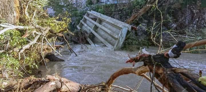 zonas afectadas que requieren rescate