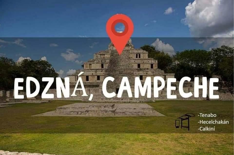 Tren Maya Edzná Campeche