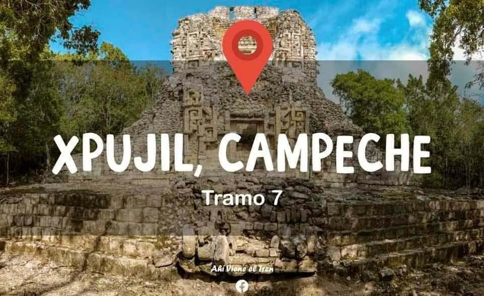 Tren Maya Xpujil Campeche