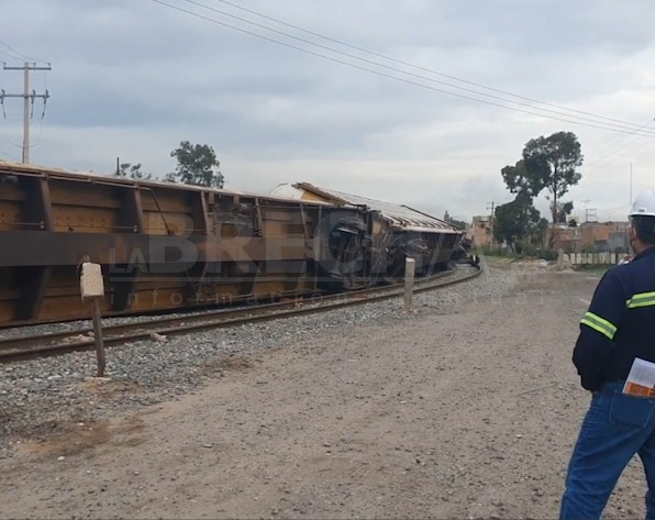 Tren descarrilado San Luis