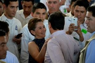 Peña y la selfie 1