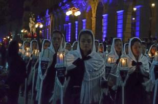 Procesion del silencio en San Luis Potosi 29