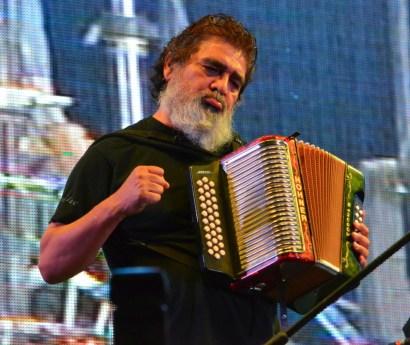 Celso Piña en el Festival de la Cantera