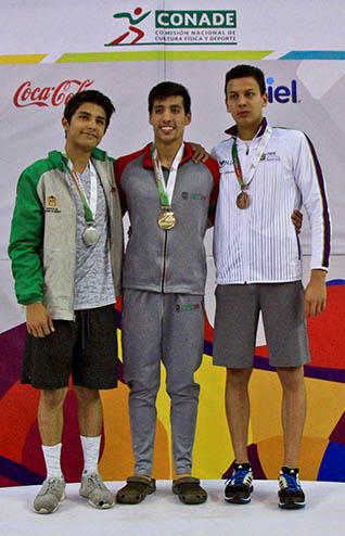 En el Centro Acuatico Olimpico Universitario NL-3