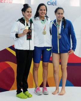Premiacion 200 m libres-olimpiada nacional 2017-