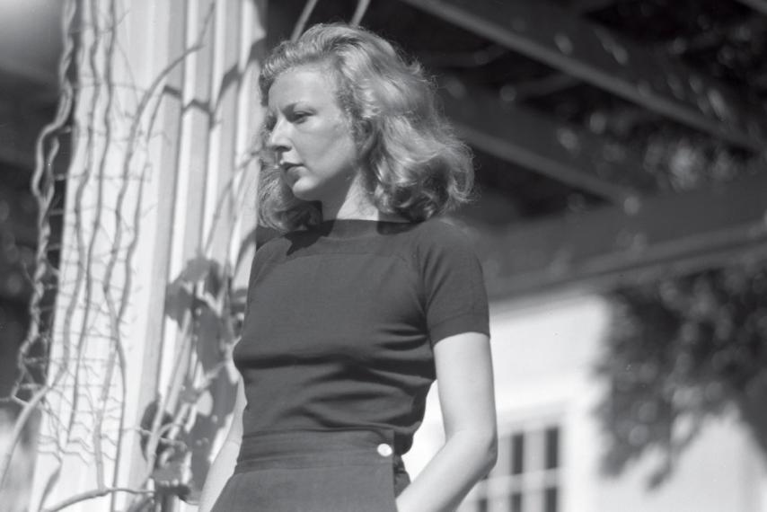 Martha Ellis Gellhorn, the only woman to land in Normandy on D-Day