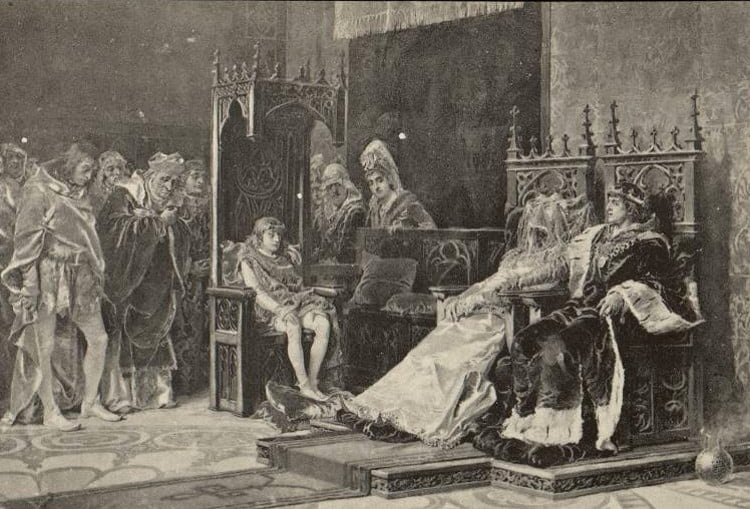 When Peter I of Portugal ordered the exhumation of his deceased wife to crown her queen