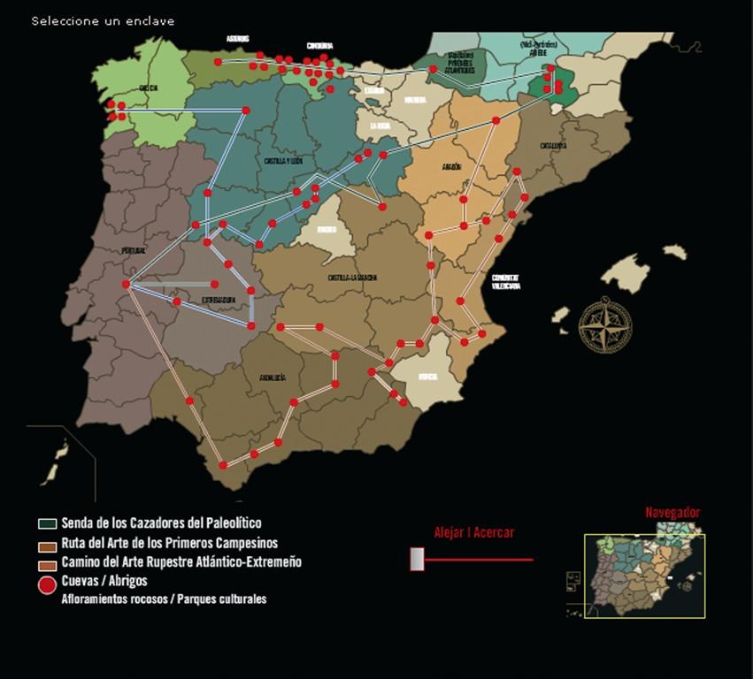 Caminos del Arte Rupestre Prehistórico. Arte Levantino de la Región de Murcia (3/6)