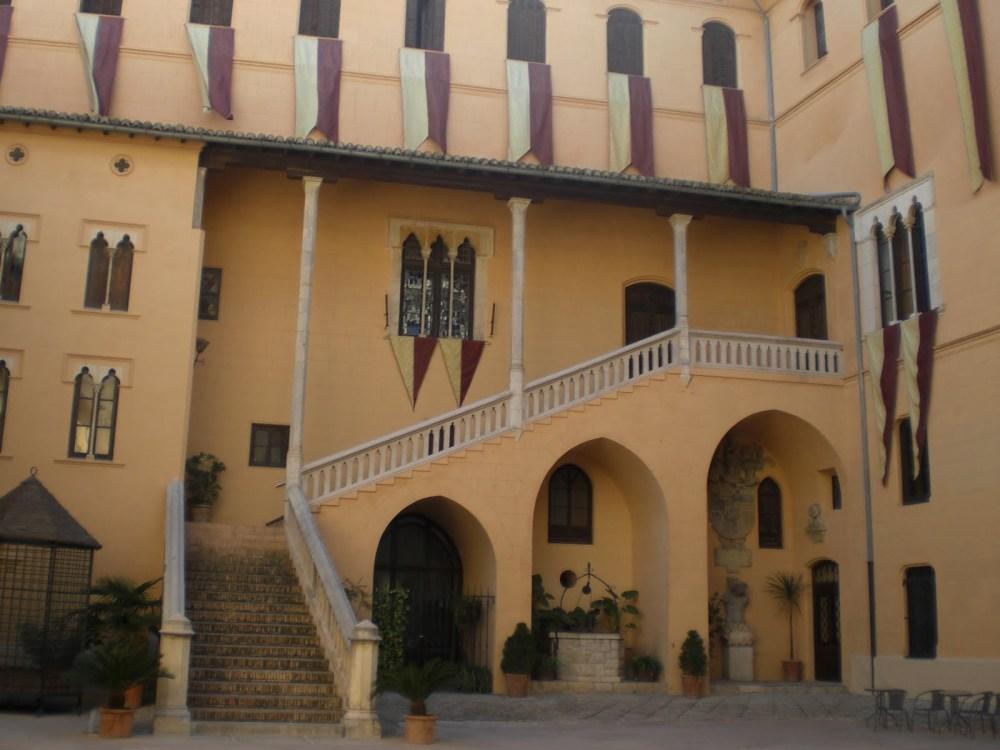 El Palacio Ducal de los Borgia en la Web (3/6)