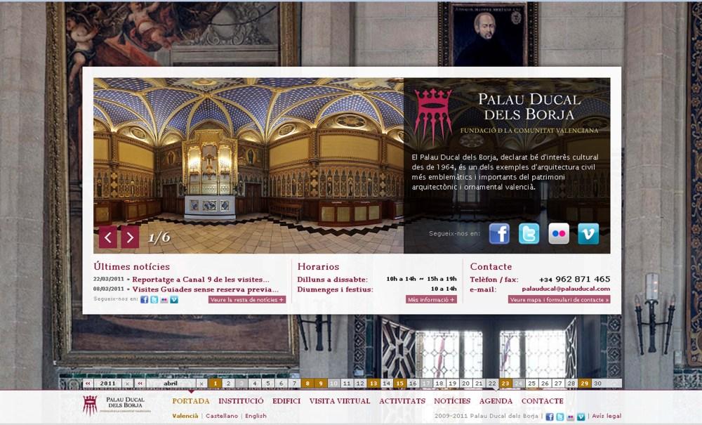 El Palacio Ducal de los Borgia en la Web (6/6)