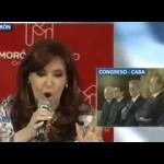 """CFK: """"Cambie la cara, Despouy"""""""