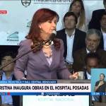 CFK inaugura un «showroom» pediátrico