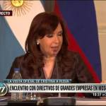 CFK sobre Angela Merkel