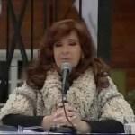 CFK y la «relajación»