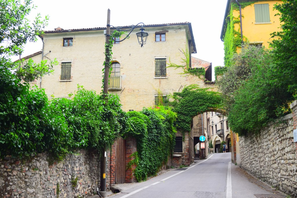 Veneto beautiful village Asolo